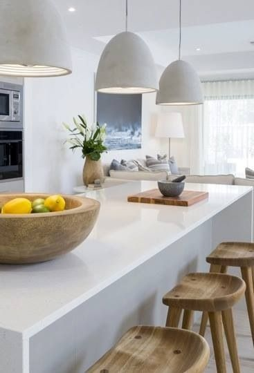 Introduce texture, warmth and contrast through your kitchen seating