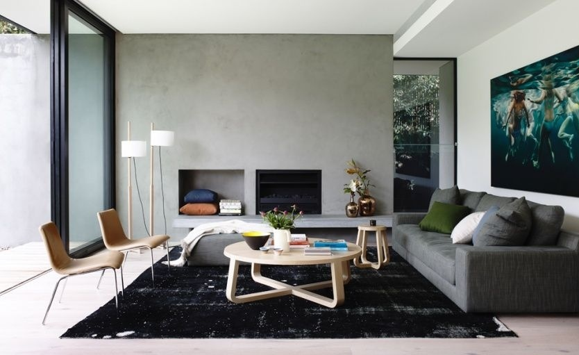 Mosh House by Foong + Sormann featuring the 'Empire' sofa by Jardan. Photographed by Derek Swalwell.