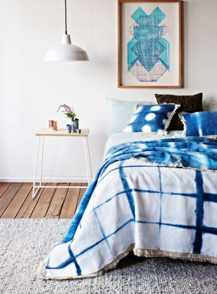 'Perfect Circles', 'Drawing Grid' and 'Horizon Line' designs in the Art House textiles range by Lumiere Art + Co