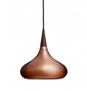 The Orient is a classic pendant that won't date. This copper design has been around long before the current copper craze and replicas flooded the market.
