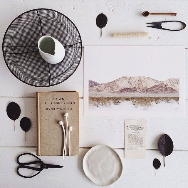 Flatlay styled and photographed by Stephanie Somebody.