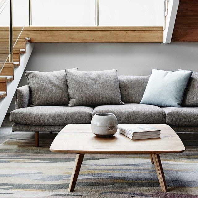 The Nook sofa seen here in the Richmond showroom, captured by James Geer.