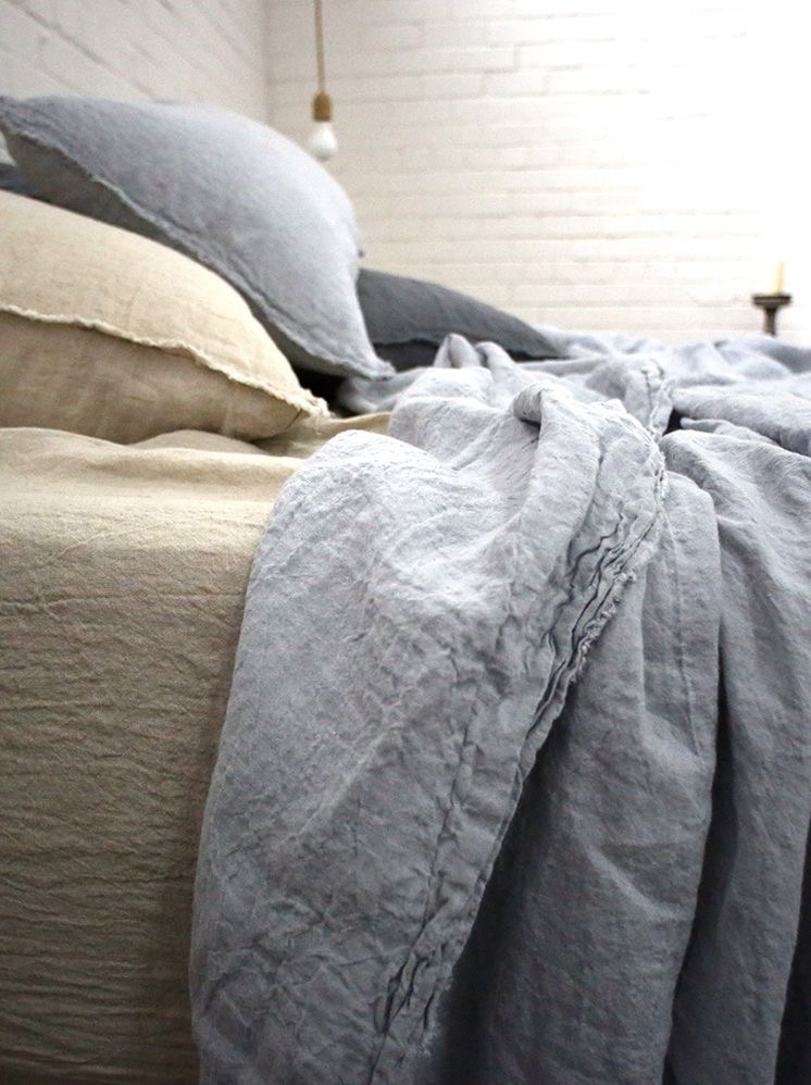 HMCo linen bedding offers superior quality and softness