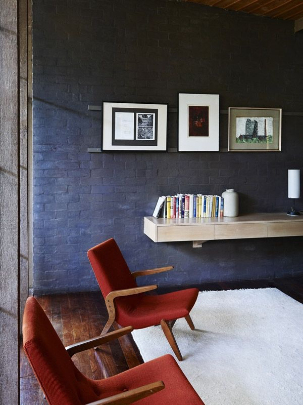 The iconic Walsh St home of Robin Boyd is a stunning example of mid-century colour and design. Photography Eve Wilson