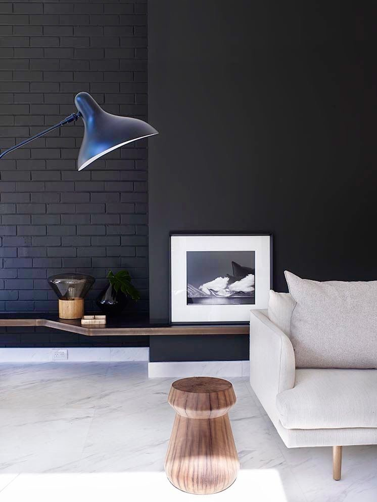 Clever use of black, white and timber in Cronulla residence by design studio Amber Road. Photography Prue Ruscoe